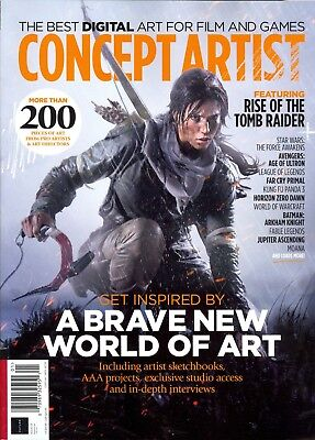 Concept Artist The Best Digital Art For Film and Games Third Edition