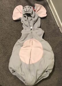 Mouse costume size 12 months
