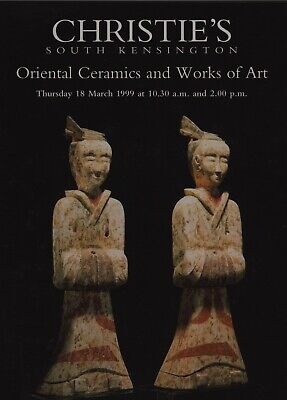 ORIENTAL CERAMICS WORKS OF ART METALWARE  LACQUER AUCTION CATALOGUE