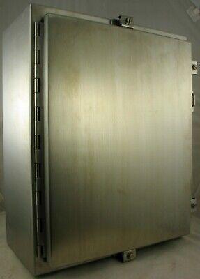 Hoffman A20h1608sslp Industrial Control Panel Enclosure Type 4 4x 12