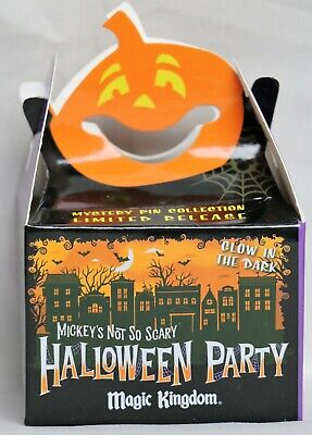 Halloween Mystery Boxes (New 2019 2 Sealed Pins Disney Mickey's Not So Scary Halloween Party Mystery)