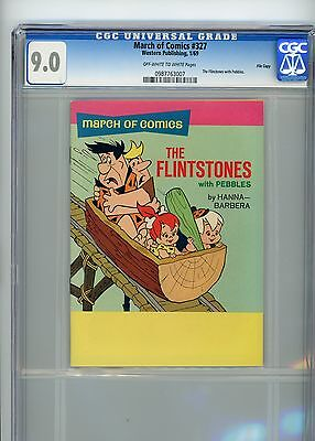 "March of Comics #327 (1969) The Flintstones with Pebbles CGC 9.0 ""File Copy"""