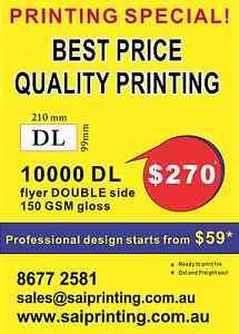 10000 DL FLYER PRINT-150 gsm gloss Parramatta Parramatta Area Preview