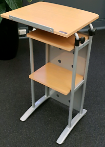 Lectern tall stand lecture preach read speech office furniture