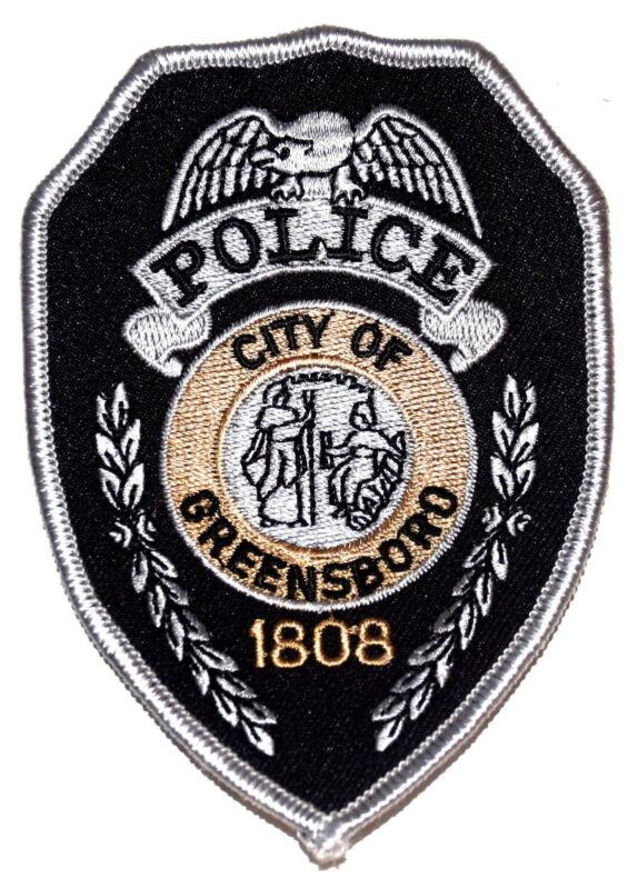 GREENSBORO NORTH CAROLINA NC Police Patch SWAT CITY SEAL CORNUCOPIA ~