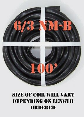 63 Nm-b X 100 Southwire Romex Electrical Cable