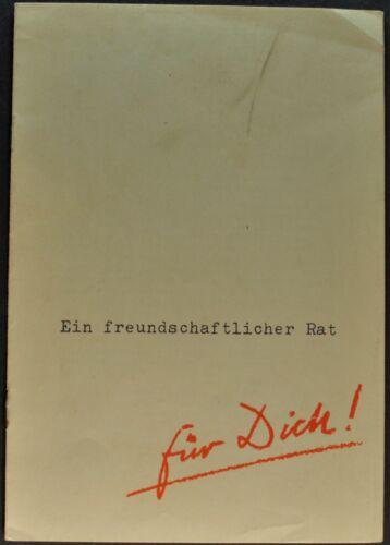 1954-1955 Lloyd LP 400 S Catalog Sales Brochure German Text Excellent Original