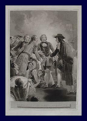 Thomas Stothard Wilhelm Oranien Revolution 1688 William III Orange-Nassau Torbay