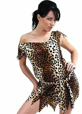 CAVE GIRL WOMAN *LOUIMANE* Naughty & Sexy*OUTFIT COSTUME FAUX FUR,IN SIZES 8-26