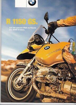 BMW  R 1150 GS Prospekt Brochure 08-2000  -   24 Seiten gebraucht kaufen  Versand nach Austria