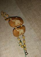 Bracciale Bracelet Armband Osso Di Yak Bone Elefante Porta Fortuna Argento Lucky - lucky - ebay.it