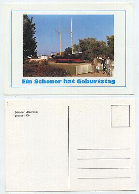 ine - Ein Schoner hat Geburtstag - alte Ansichtskarte (Hermine Geburtstag)