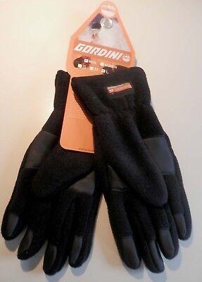NEW Mens Black Gordini Lavawool 200  Fleece Winter Driving Gloves Sz (Gordini Lavawool Fleece)