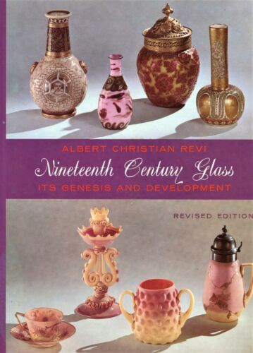 19th Century Art Glass Types Makers / Scarce In-Depth Illustrated Book