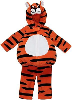 Baby Boy Halloween Costumes 6 9 Months (Carter's Baby Infant Boy 6-9 Months Orange Black Fleece Halloween Tiger)