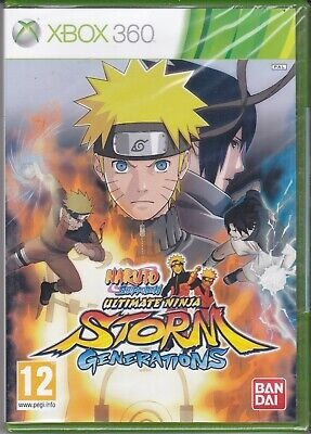 Xbox 360 Naruto Shippuden Ultimate Ninja Storm Generations Neuf Scellé Eng for sale  Shipping to Nigeria