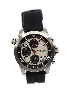 Louis Erard L'Esprit Du Temps Chronograph Stainless Steel Watch