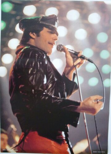 """QUEEN """"FREDDIE MERCURY IN CONCERT"""" POSTER, FROM EARLY 1980"""