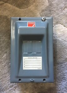 Electrical switch box, federal pioneer 102-4, 60AMP, Y45A105-1