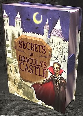 Dracula S Castle Halloween (SECRETS OF DRACULA'S CASTLE Halloween COUNT DRACULA Activity Kit NEW Sealed BOOK)