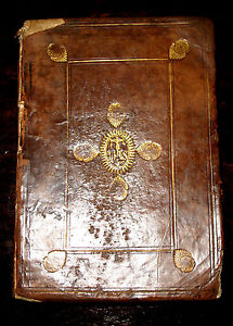 1621 Roman Catholic MISSAL Exorcism RITUALS Latin PLANTIN Holy Bible DEMONOLOGY