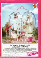 Pubblicità Advertising 1988 Mattel Barbie Il Terrazzo - barbie - ebay.it