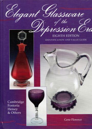 Elegant Vintage Depression Glass - Makers Patterns / Illustrated Book + Values