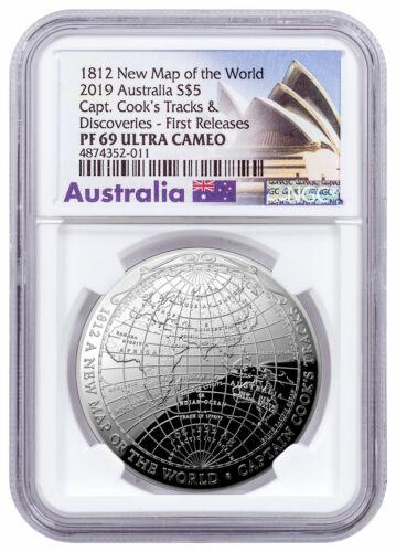 2019 Australia Map Captain Cook