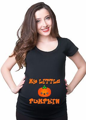 My Little Pumpkin Halloween Pregnancy T-shirt Maternity Halloween Costume Tee](Maternity Halloween Pumpkin Shirts)