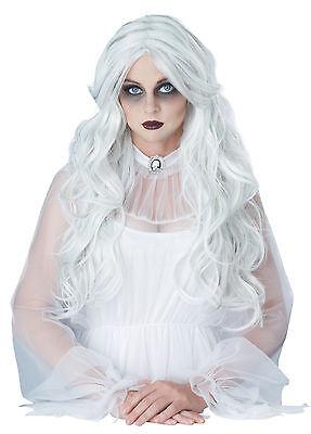 Supernatural Ghost Spirit Halloween Costume Wig White - Spirit Halloween Wigs