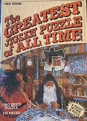 Greatest Jigsaw Puzzle Of All Time First Episode 512 Piece Two Sided Clocks Seal