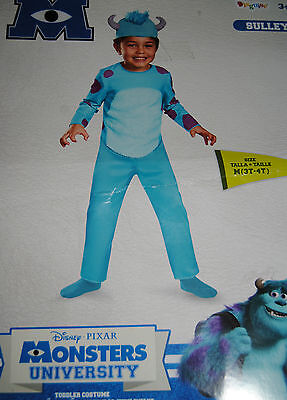 Sully Monster Kostüm (Kostüm~USA~92-98-104~Sully~Sulley~Disney~Karneval~Fasching~Monster~Junge~türkis)