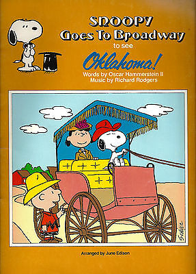 """Rodgers & Hammerstein """"OKLAHOMA!"""" Charlie Brown and Snoopy Broadway Songbook"""