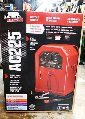 Lincoln Electric Ac-225 Arc Welder K1170 Brand New In Box