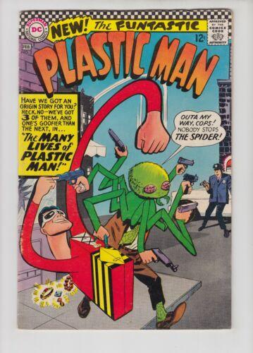 PLASTIC MAN #2 FN CONDITION, 1967 DC