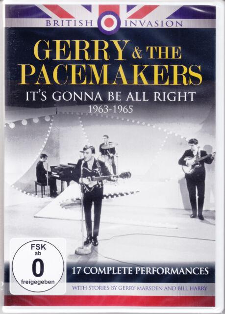 Gerry & the Pacemakers,17 Complete Performances 1963-1965 + Bonus/DVD-Neuware