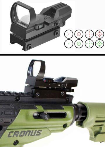 tippmann cronus replacement red green sight 4 reticles paintballer optics alumin