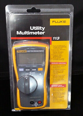 Fluke 113 True-rms Utility Multimeter Display Backlight Vchek Loz Function