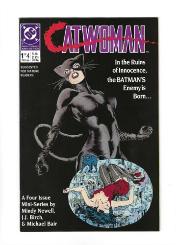 Catwoman #1-#4 Complete Set Mini-Series, 9.4 NM avg, 1989 DC