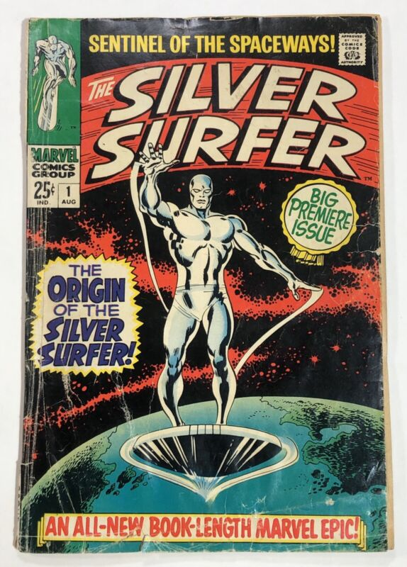 Silver Surfer #1 GD+ 2.5 Marvel Comics