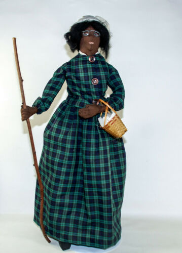 """Sojourner Truth Homemade Rag Doll Famous Women In History Americana 16"""""""