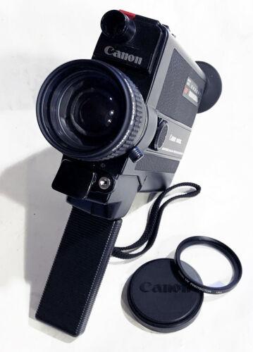 Canon 310xl Super 8 Movie Camera f/1.0 lens CLA
