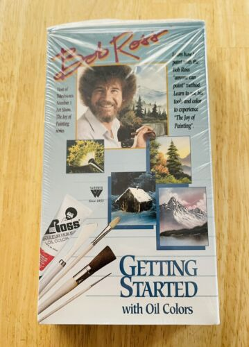Bob Ross - Getting Started With Oil Colors VHS, 1998  - $12.00