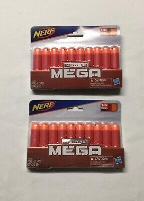 20 NIP Nerf Darts  N-Strike Mega Darts ( 2 Packs of 10)