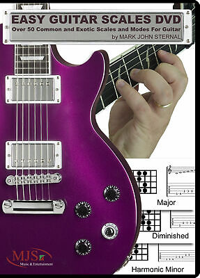 EASY GUITAR SCALES Over 50 Common and Exotic Scales and Modes ~SALE PRICE TODAY! ()