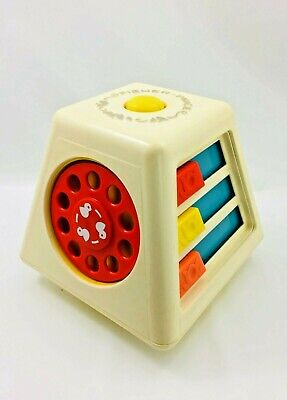 Vintage 1978 Fisher Price Turn and Learn Spinning Toy Activity Center No. 156