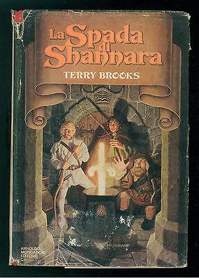 BROOKS TERRY LA SPADA DI SHANNARA MONDADORI 1978 OMNIBUS PRIMA EDIZIONE FANTASY