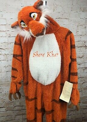 Disney Shere Khan costume youth Small Jungle Book Sourcing Pre Production tag