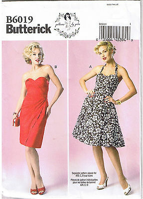 Princess Bodice - Vtg 50s Retro Boned Bra Bodice Princess Dress Sew Pattern by Gertie 4 6 8 10 12