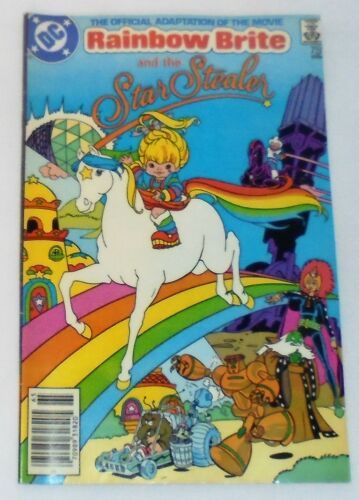 Rainbow Brite and the Star Stealer #1 1986, COMIC BOOK, MINT CONDITION